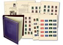 As we move towards the Diamond Jubilee celebrations, relive the crowning of Queen Elizabeth II with a complete, original set of unused stamps from across the Commonwealth produced in 1953.