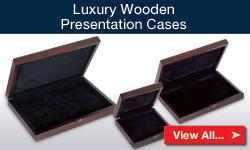 Luxury Wooden Presentation Cases