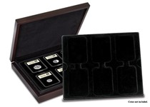 Your DateStamp TM Deluxe Large presentation case comes complete with 2 trays able to hold 12 DateStamp TM products.