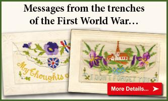 WWI Silk Postcards