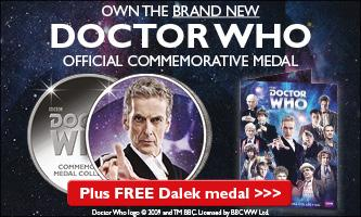 Doctor Who Medal Collection
