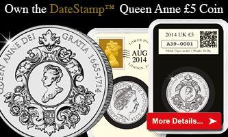 Queen Anne DateStamp £5