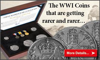 WWI Coin and Replica Medal Set