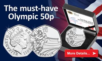 Olympic Cycling 50p