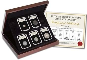 Britain's Most Infamous Coins Collection