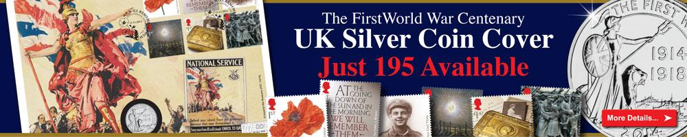 The First World War Centenary UK Silver Cover