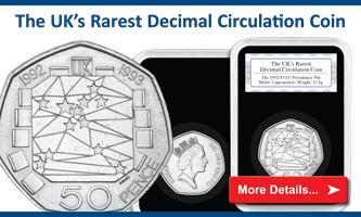 The UK's rarest decimal circulation coin