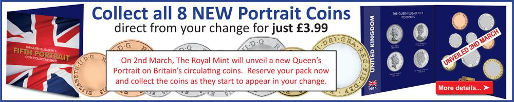New Queens Portrait Coin Collecting Pack