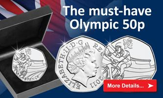The UK Olympic Silver Cycling 50p Coin