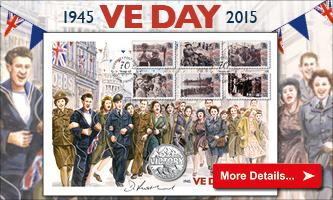 VE Day Coin Cover