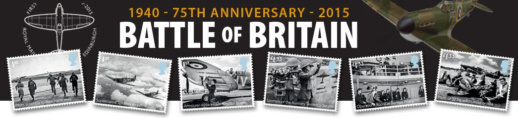 Battle of Britain Stamps Battle of Britain Banner
