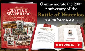 Secure the Battle of Waterloo philatelic book...
