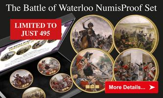 Secure 4 Battle of Waterloo Medals