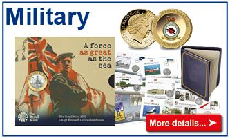 Military coins & stamps