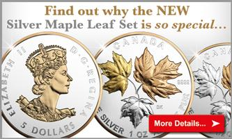 Secure the special set issued by the Canadian Mint...