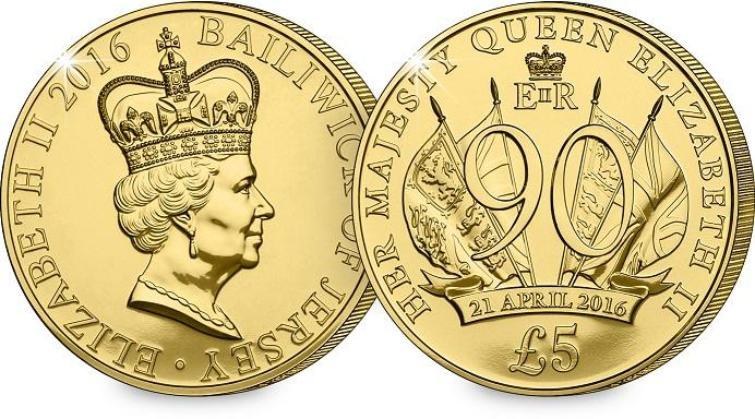 Own The New Queen 39 S 90th 5 Coin For Just 5 Postfree