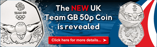 New Team GB 50p revealed for the Rio 2016 Olympics