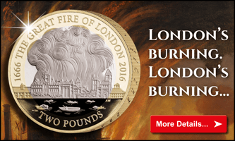 London's Burning - New Two Pound Coin
