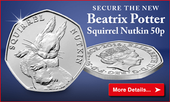 Secure the new Beatrix Potter Squirrel Nutkin 50p