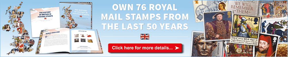 Own the Ultimate Philatelic Tribute to the history of Great Britain