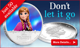 Don't let this new Frozen coin go!