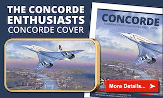Own the Concorde enthusiasts Concorde Cover