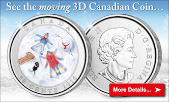 See the moving 3D Canadian Coin