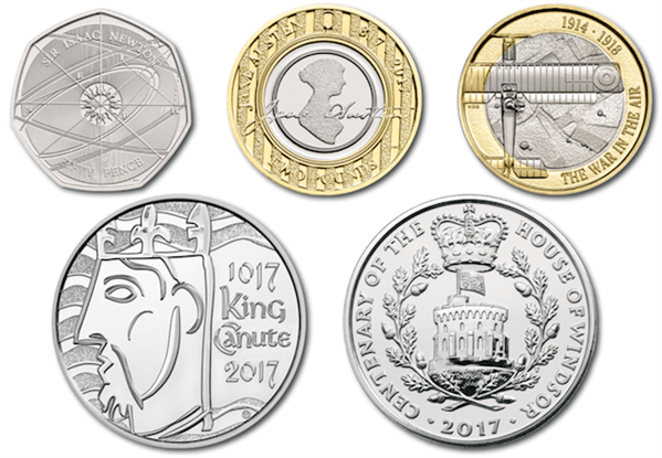 2017 Commemorative Coins