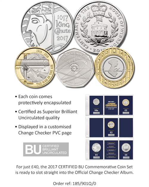 2017 Commemorative Coins with Wallet