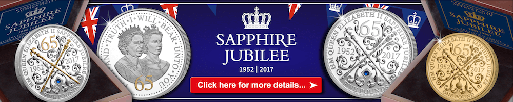 See our range of Sapphire Jubilee Coins...