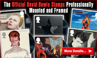 Own the David Stamps Professionally Mounted and Framed