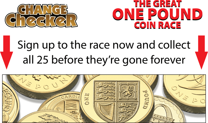 Great One Pound Race Desktop Landing Page Image