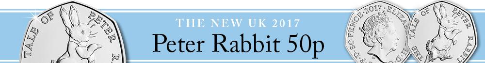 Beatrix Potter 2017 Peter Rabbit 50p Banner