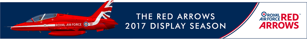 Red Arrows Display Season Banner