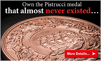 Pistrucci 'Waterloo' Replica Medal