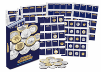 The Change Checker Collector's Album with a selection of additional Change Checker accessories: 352L (4 x spare pages with ID cards) and 590X (Pre-97 50p and £2 Collection Pages).