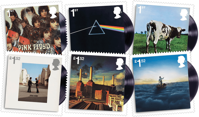 Pink Floyd Stamps Banner Mobile