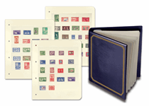 A collection of 96 unused stamps from more than 28 Commonwealth countries. The stamps featured are the George VI Definitive and commemorative stamps issued in the Commonwealth nations.