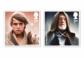 Star Wars Stamps 1