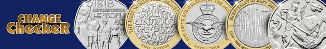 2018 Change Checker UK Coins Landing page banner Mobile