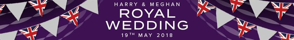 Harry And Meghan Royal Wedding 2018 Banner Desktop