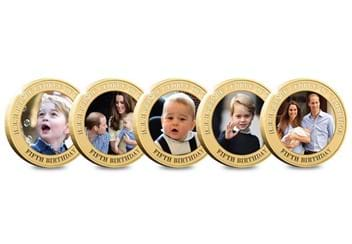 Dn Prince George Fifth Birthday Guernsey Gold Plated Five Coin Set Product Pages3