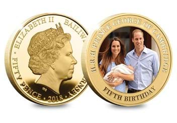 Dn Prince George Fifth Birthday Guernsey Gold Plated Five Coin Set Product Pages4