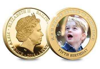 Dn Prince George Fifth Birthday Guernsey Gold Plated Five Coin Set Product Pages5