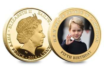 Dn Prince George Fifth Birthday Guernsey Gold Plated Five Coin Set Product Pages6