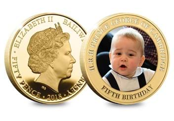 Dn Prince George Fifth Birthday Guernsey Gold Plated Five Coin Set Product Pages7