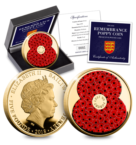 Landing Page Image Rbl 2018 Poppy 5 Proof Coin 450Px