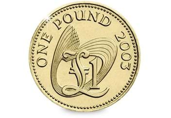 Guernsey-2003-CuNi-One-Pound-Coin-Reverse