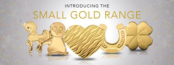 Small Gold Coin Range Page Banner Mobile