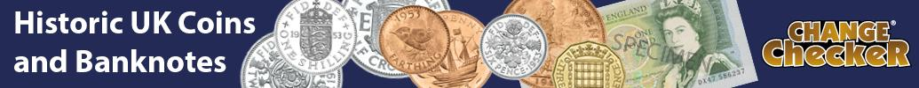 Change Checker Historic Coin Banner 1035